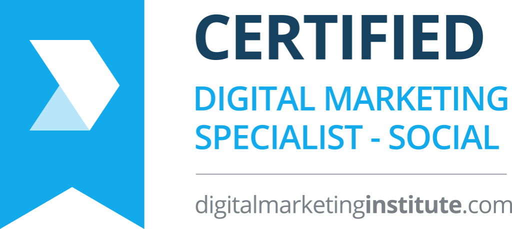 Digital Marketing Institute - Certified Digital Marketing Specialist - Social