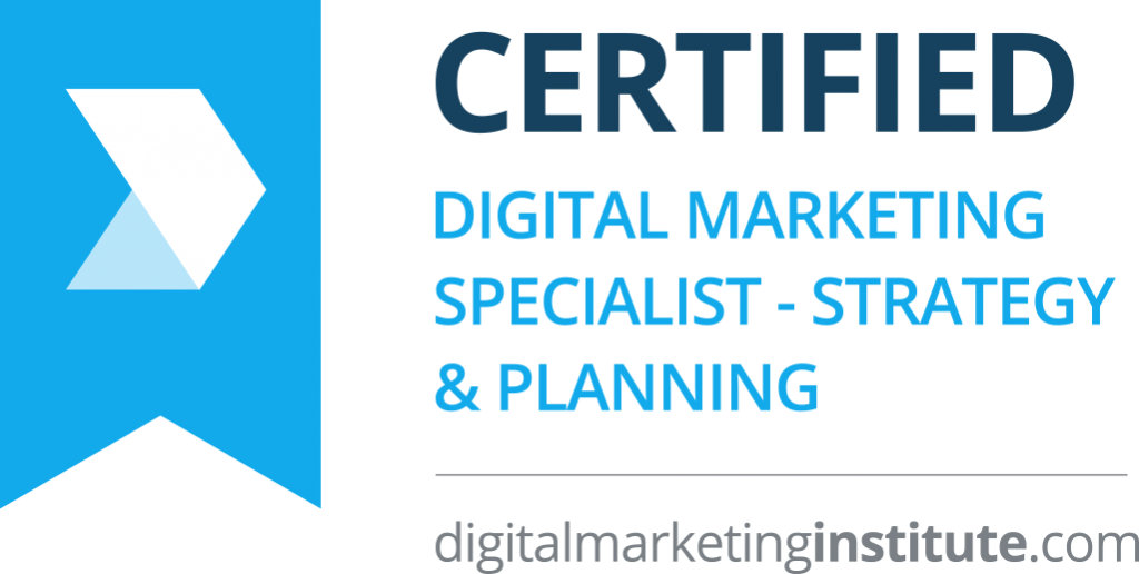 Certified Digital Marketing Specialist - Strategy & Planning