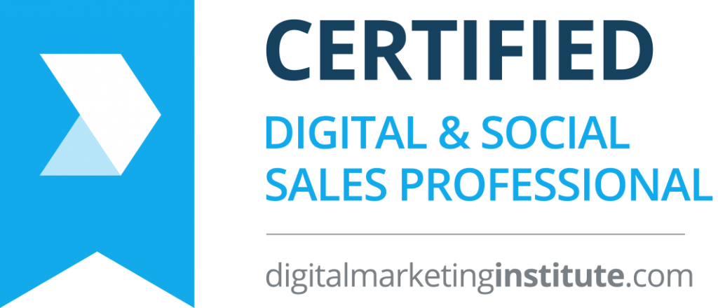 Digital Marketing Institute - Certified Digital & Social Selling Professional