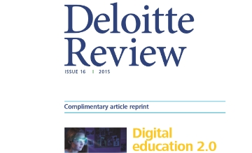 Deloitte Review - Digital Education