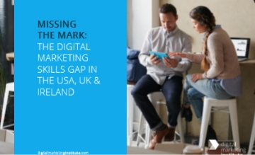 The Digital Marketing skills gap in USA, UK & Ireland
