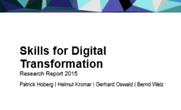 Skills for Digital Transformation