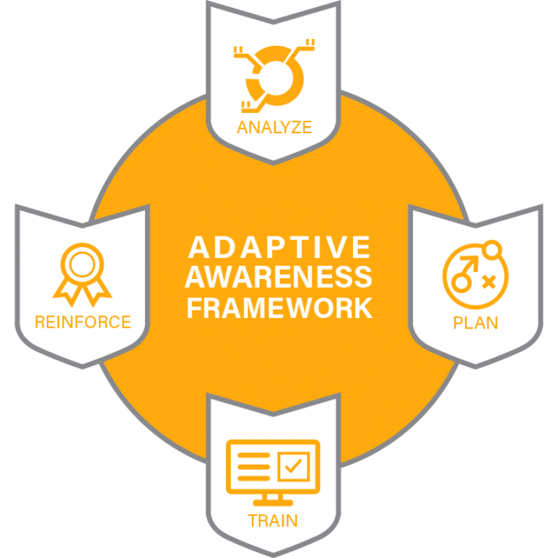 MediaPro Adaptive Awareness Framework Logo
